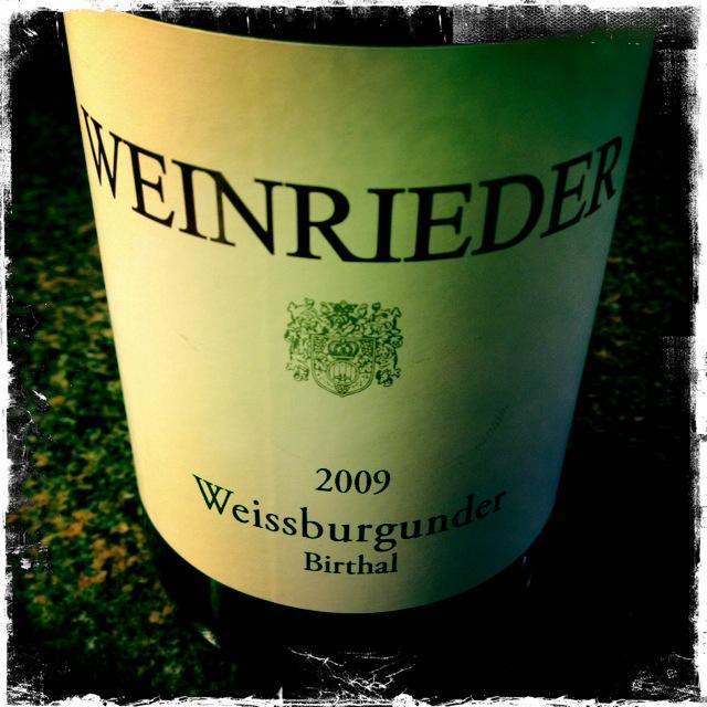 WeingeniesserCH_Weinrieder_Weissburgunder_2009
