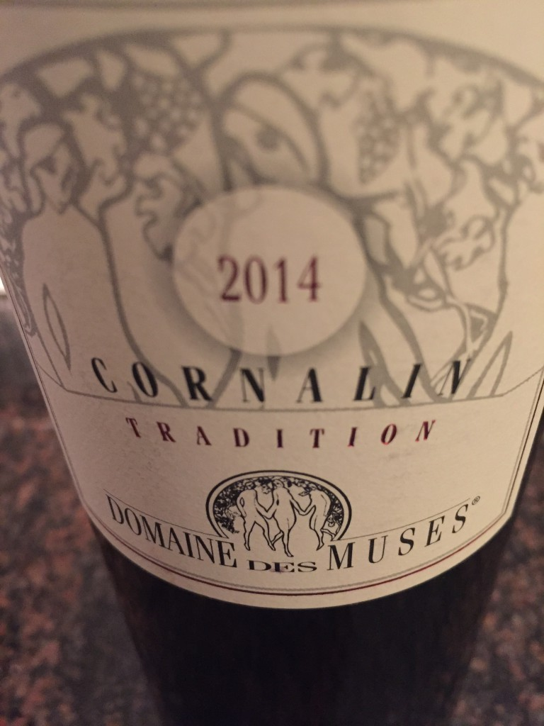 Domaine des Muses: Cornalin Tradition 2014