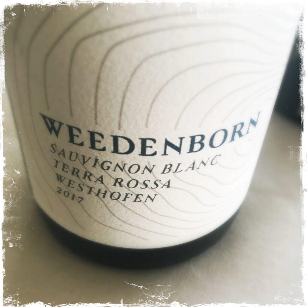 Weedenborn Sauvignon Blanc 2017